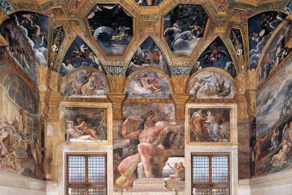 Mantova_Palazzo_Te_Sala_Amore_e_Psiche_Polifemo