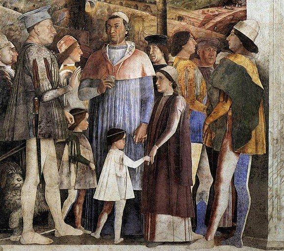 Camera degli sposi andrea mantegna incontro centro guide for Mantova camera sposi