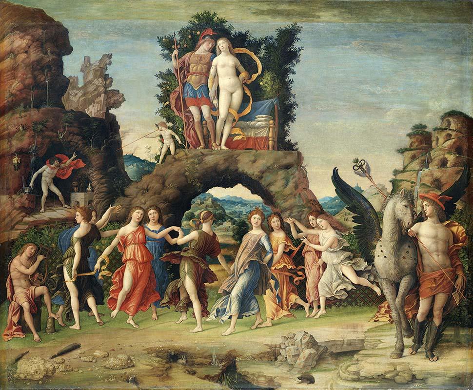 Camerini di isabella d 39 este centro guide mantova i gonzaga for La corte dei gonzaga mantegna