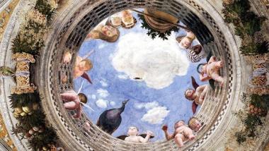 Camera_degli_Sposi_Andrea_Mantegna_Oculo