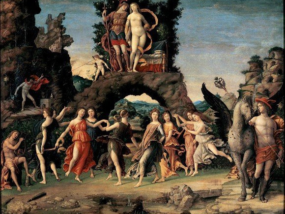 Andrea_Mantegna_Parnaso_Mantova_Palazzo_Ducale