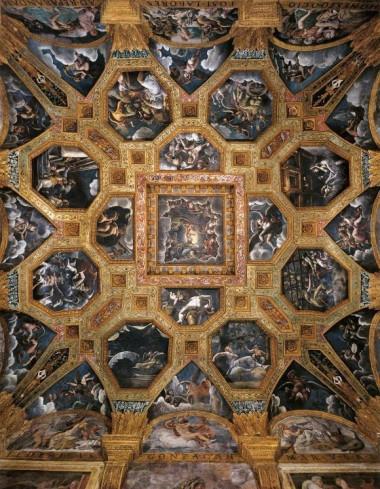 Mantova_Palazzo_Te_Sala_Amore_e_Psiche_la_volta